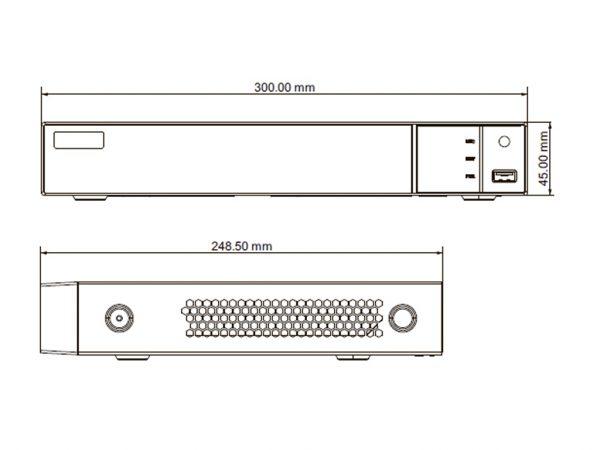 Відеореєстратор TD-308B1-8P