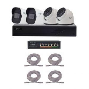 TVT-KIT-S3-2Mp/4 base+