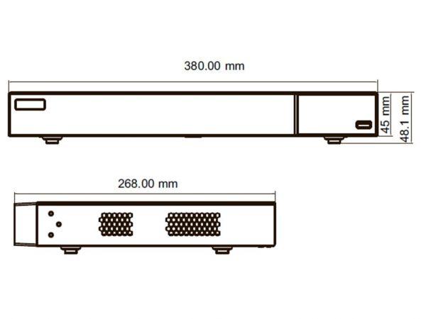 TD-3116B2 відеореєстратор