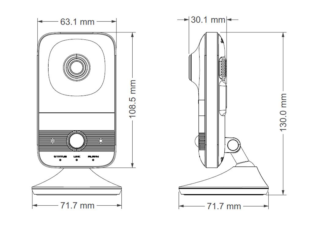 TD-C12 IP-відеокамера